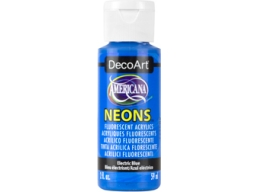 Electric Blue Neon - 2oz DecoArt Americana Acrylic Paint