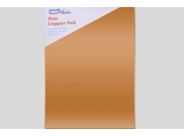 Copper Foil Pack Thin 0.1 mm 2 sheets