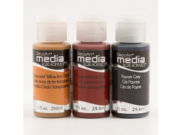 DecoArt Pack of 3 Media Paints