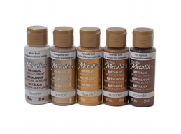 DecoArt Craft Metallic Paint Bundle