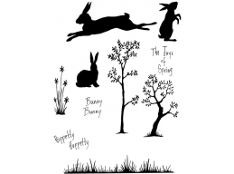 Hippetty Hoppetty Clear Stamp