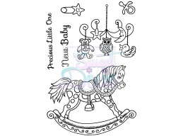 Sweet Dixie Clear Stamp Precious Little One A6