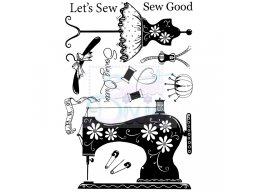 Lets Sew A6 Clear Stamp