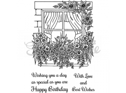 Wishing You A Day As Special As You Clear Stamp
