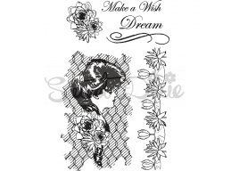Lilly Make A Wish Clear Stamp