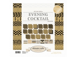 Ultimate Crafts The Ritz Collections - Evening Cocktail 12x12in Paper Pad