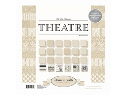 Ultimate Crafts The Ritz Collections - Theatre 12x12in Paper Pad