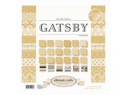 Ultimate Crafts The Ritz Collections - Gatsby 12x12in Paper Pad