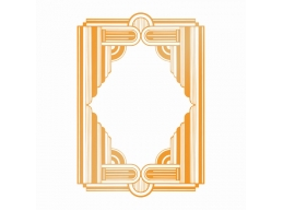 Ultimate Crafts The Ritz Collections Framed Columns Hotfoil Stamp