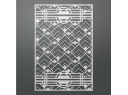 Ultimate Crafts The Ritz Collections Geometric Background Die 95x140mm