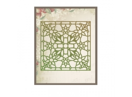 Pressed Flowers Stained Glass Impression Dies - Ultimate Crafts Impression Dies