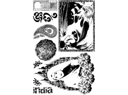 Asian Plate 2 - A6 Stamp Set, unmounted