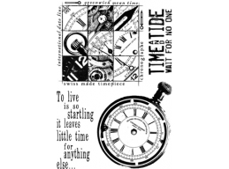 Clocks Plate 3 - A6 Stamp Set - PaperArtsy