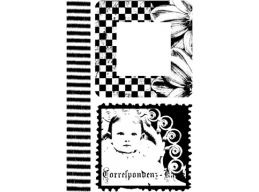 Kids Plate 4 - A6 Stamp Set, unmounted