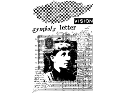 Letters Plate 1 - A6 Stamp set, trimmed on EZ Mount