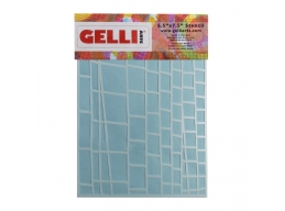 Ladder Stencil - For use with 5x7 plate - Gelli Arts