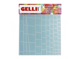 Ladder Stencil - For use with 8x10 plate - Gelli Arts