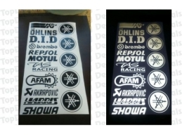 Motorcycle Decal  Kits