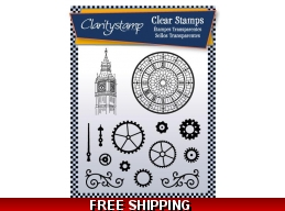 Claritystamp Cogs and Clocks Stamp Set - 14 Stamps PRE-ORDER