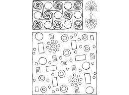 Metal Xtra - Geometric 1 - A6 Stamp Set - PaperArtsy