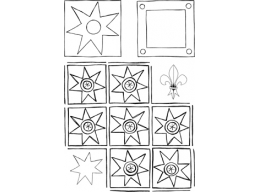 Metal Xtra - Geometric 2 - A6 Stamp Set - PaperArtsy