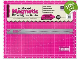 Magnetic Mat and Magnetic Ruler - We R Memory Keepers