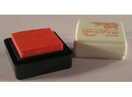 VersaFine Small Ink Pad - Satin Red
