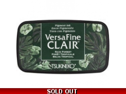 Rain Forest Versfine Clair Pigment Ink Pad