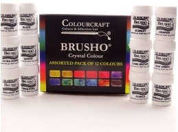 Brusho Starter Pack - Fixed Assortment 12 colours