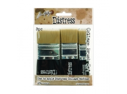 Ranger - Tim Holtz - Distress Collage Brushes 3 Pack Assortment