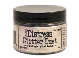 Tim Holtz Distress - Glitter Dust - Vintage Platinum