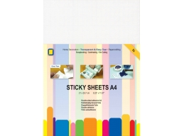 John Next Door Crafts Too 5 x A4 Double Sided Adhesive Sheets