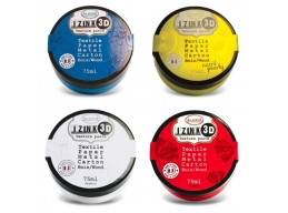John Lockwood - The Brights - Izink Set of 4 x 75ml 3D Texture Paste