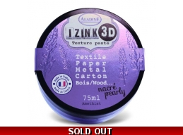 Izink 3D Texture Paste - Amethist 75ml