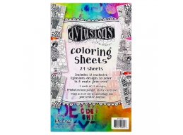 Dylusions Coloring Sheets 5 , DYA48428