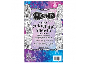 Dylusions Coloring Sheets 1, DYA52777