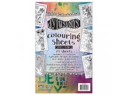 Dylusions Coloring Sheets 2 , DYA53903