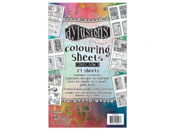 Dylusions Coloring Sheets 3 , DYA55433