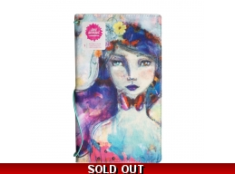 Jane Davenport - Mixed Media - Butterfly Effect Canvas Cover Book - Girl 5
