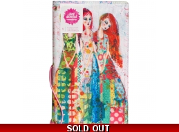 Jane Davenport - Mixed Media - Butterfly Effect Canvas Cover Book - Sisters