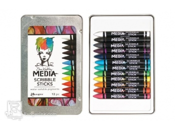 Dina Wakley Media Line by Ranger - Scribble Sticks