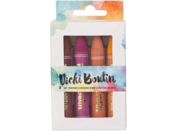 Vicki Boutin Mixed Media Oil Pastel Art Crayons - VBAC 76797 - Warm Tones - Set 1