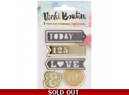 Vicki Boutin Mixed Media Paperclips