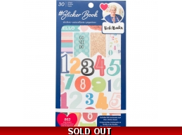 Designer Sticker Book 4.75