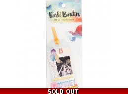 Vicki Boutin Mixed Media Cardstock Tags Pad 5