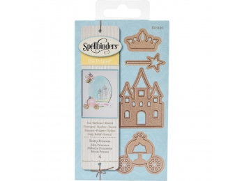 Pretty Princess - Spellbinders Shapeabilities Die D-Lites - S2230