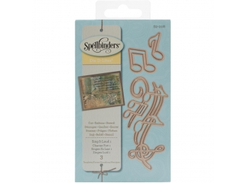 Sing It Loud 1 - Spellbinders Shapeabilities Die D-Lites - S2208