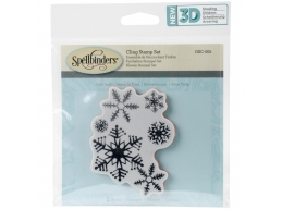 Cold Spell - Spellbinders 3D Cling Stamp 2.75