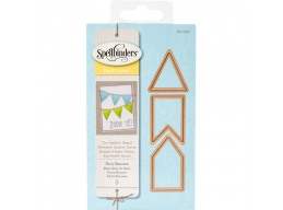 Party Banners - Spellbinders Shapeabilities Die D-Lites - S1010
