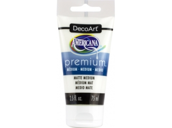 Matte Medium Premium Acrylic , DecoArt